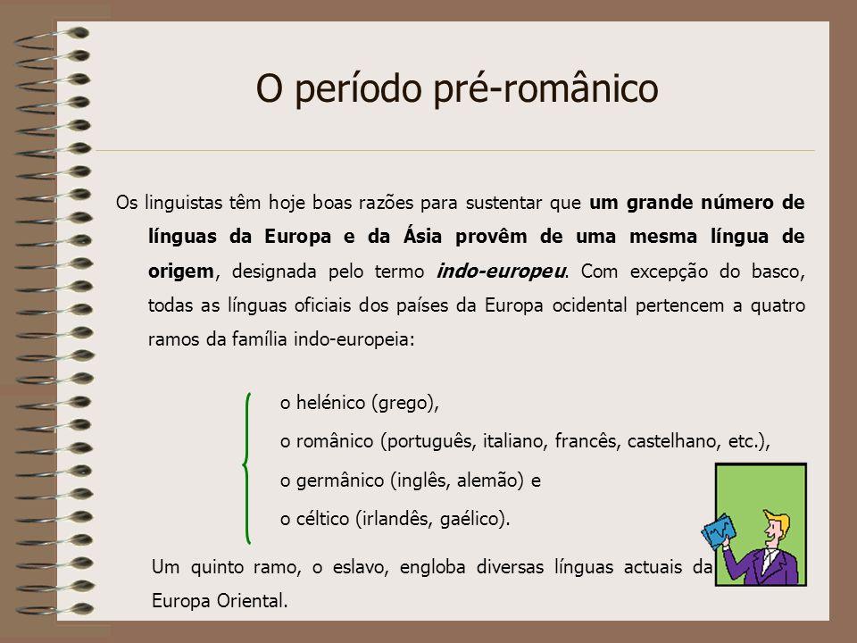 O período pré-românico