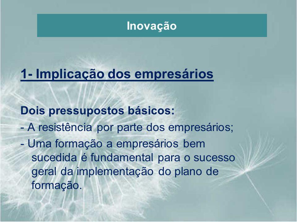 1- Implicação dos empresários