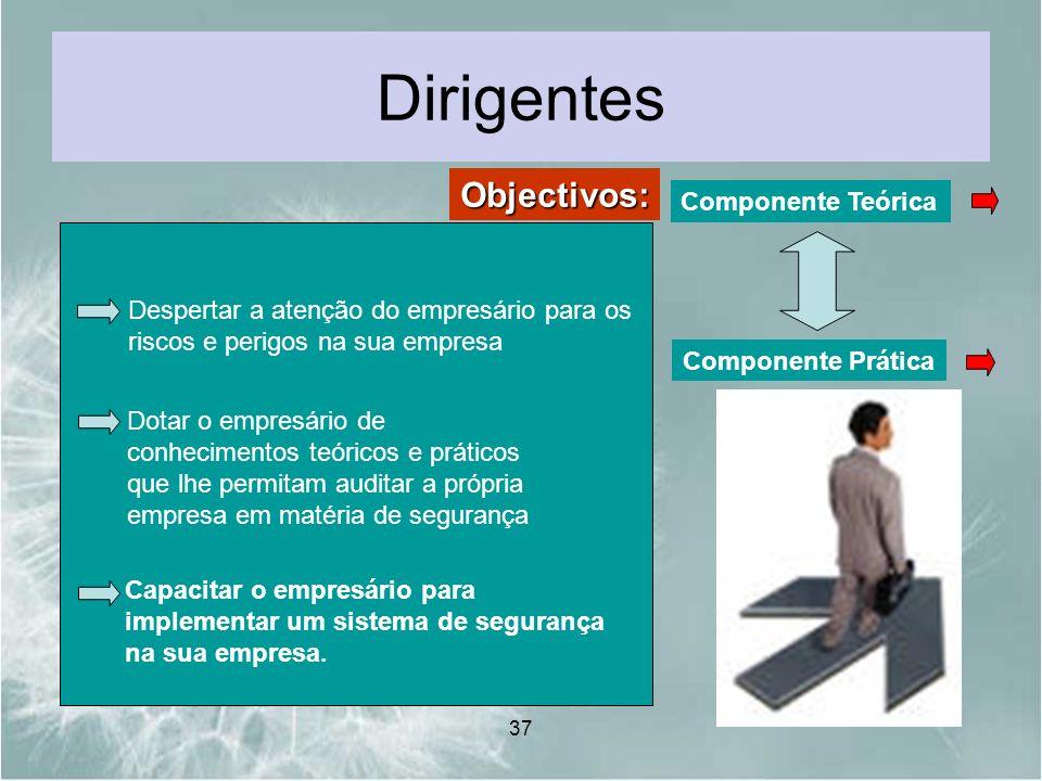 Dirigentes Objectivos: Componente Teórica