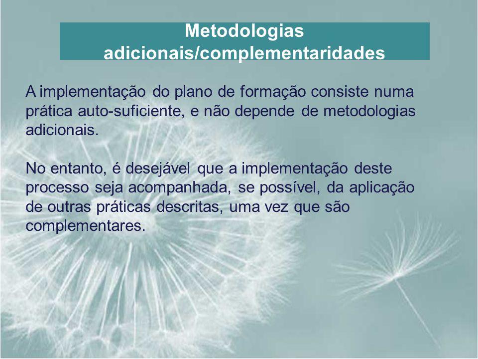 Metodologias adicionais/complementaridades