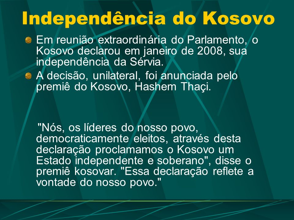 Independência do Kosovo