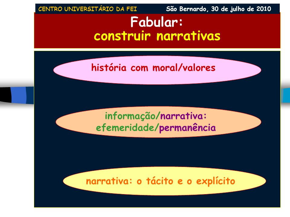 Fabular: construir narrativas