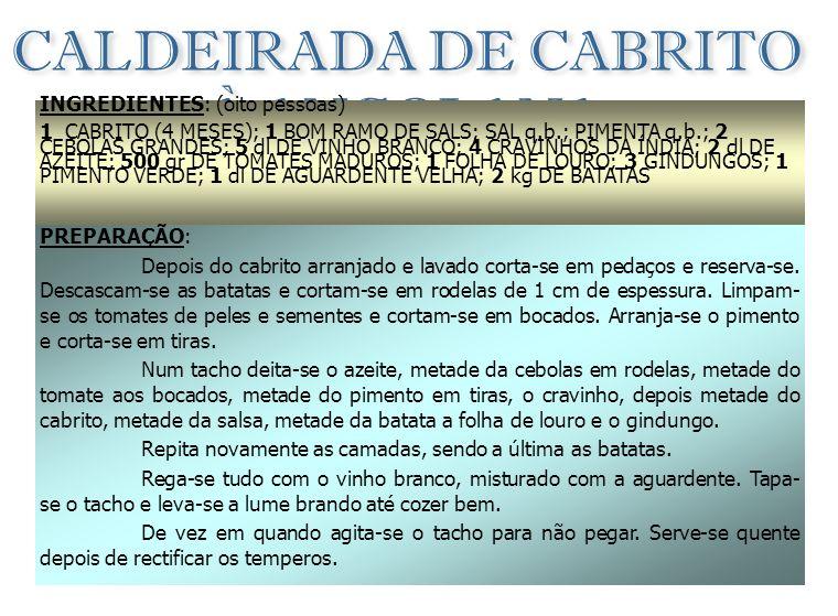 CALDEIRADA DE CABRITO À ANGOLANA