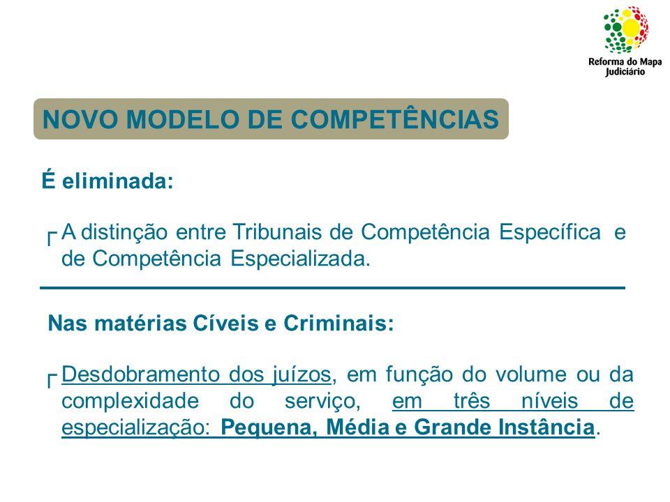 NOVO MODELO DE COMPETÊNCIAS