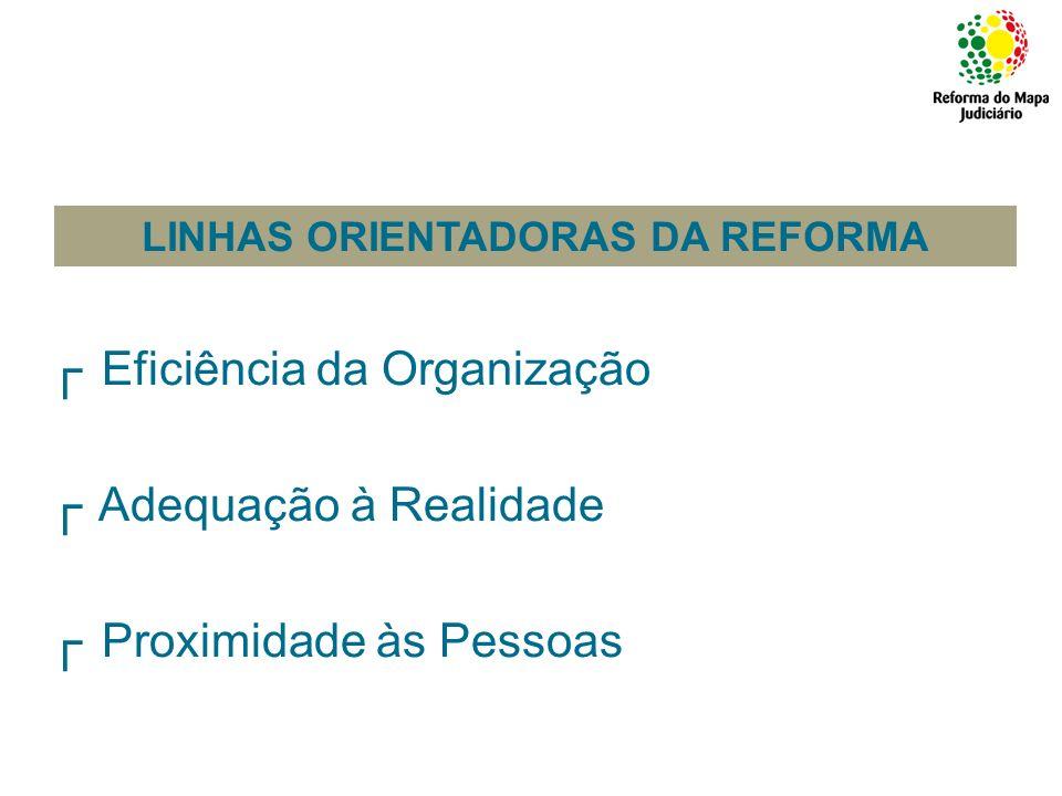 LINHAS ORIENTADORAS DA REFORMA