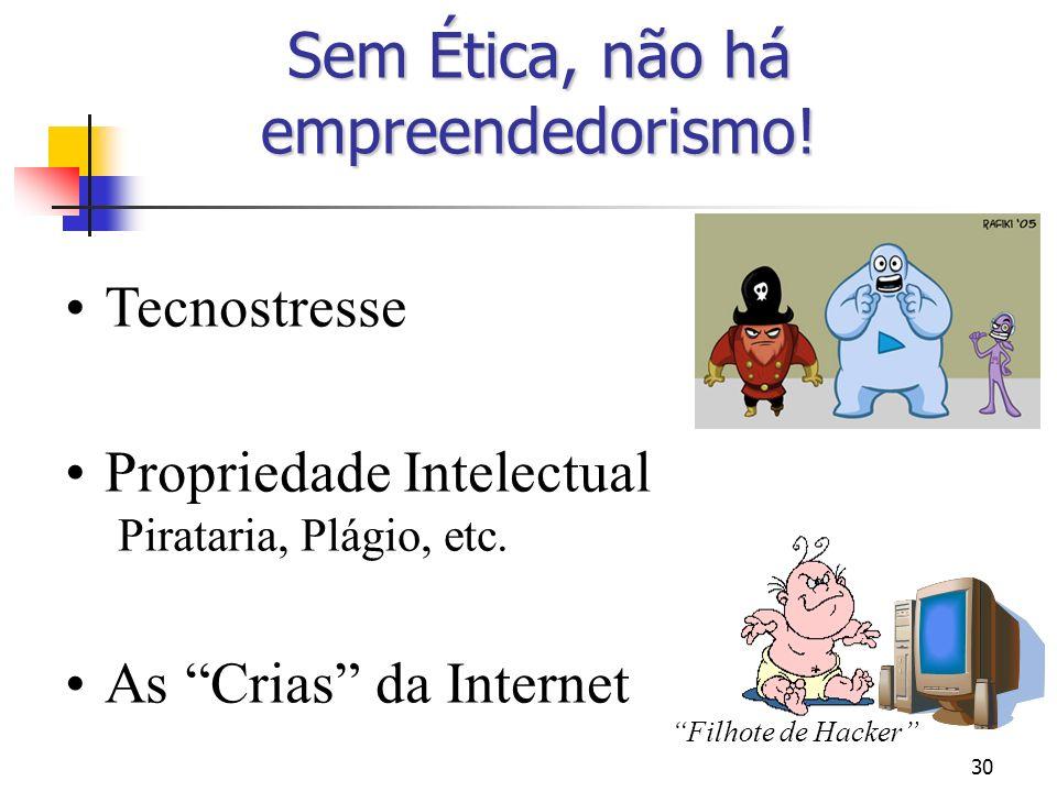 Sem Ética, não há empreendedorismo!