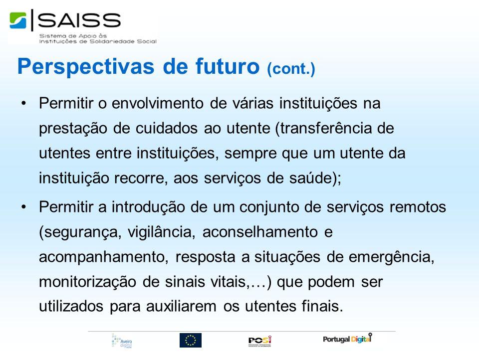 Perspectivas de futuro (cont.)