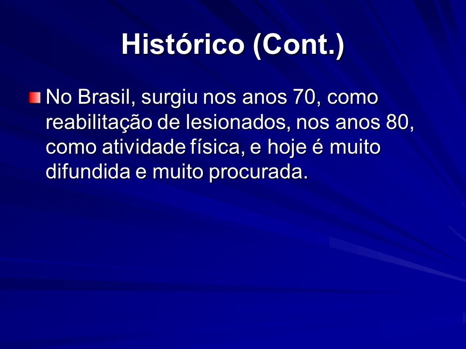 Histórico (Cont.)