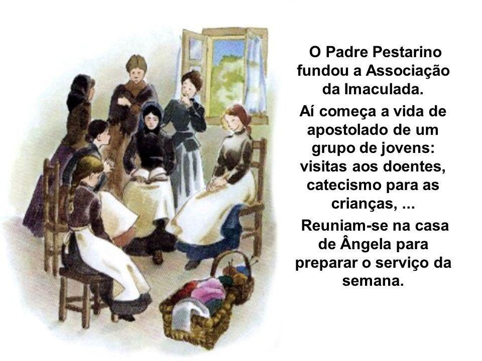 O Padre Pestarino fundou a Associação da Imaculada.