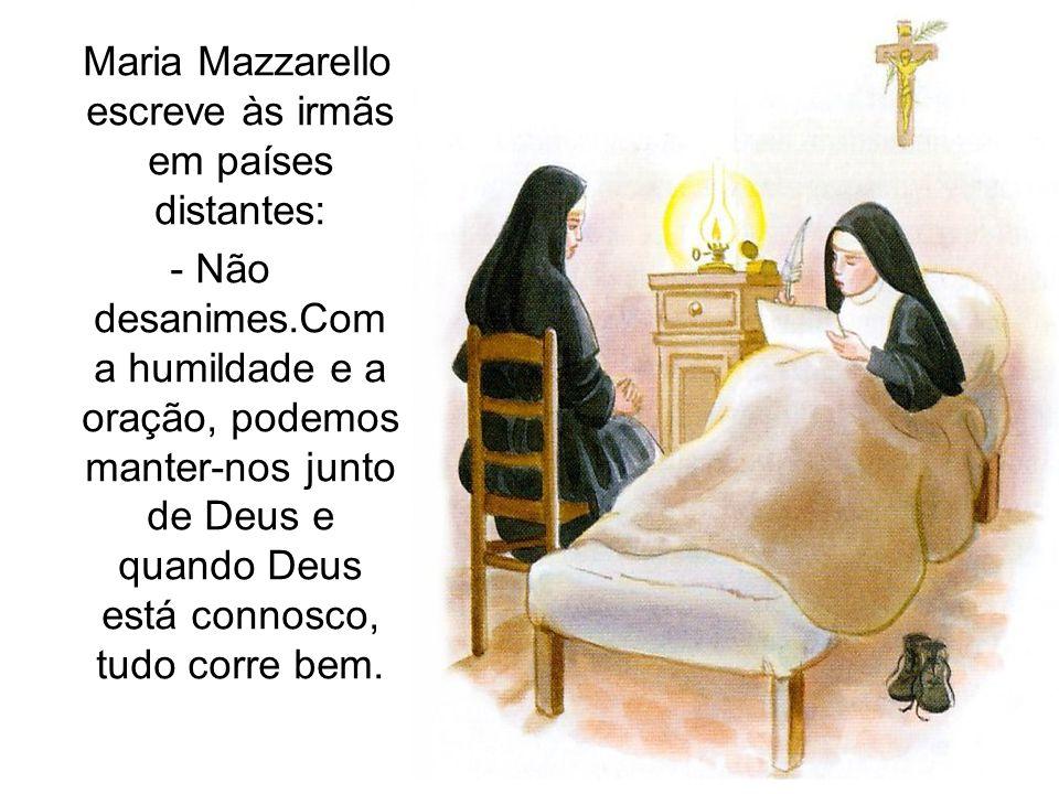 Maria Mazzarello escreve às irmãs em países distantes: