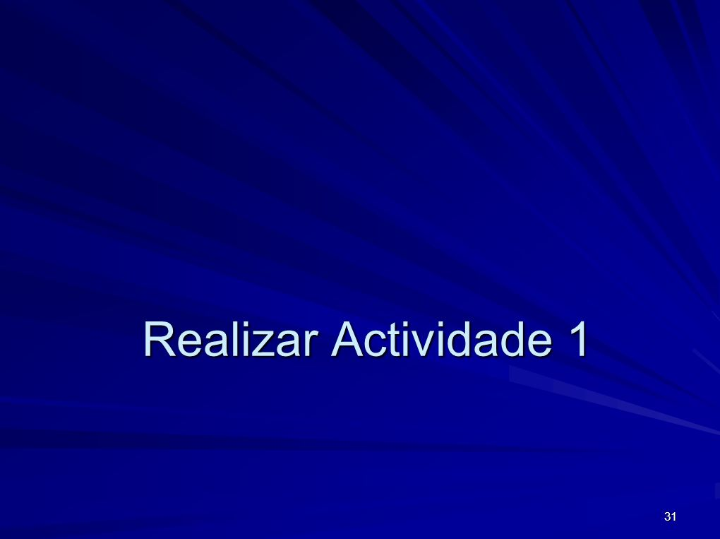 Realizar Actividade 1
