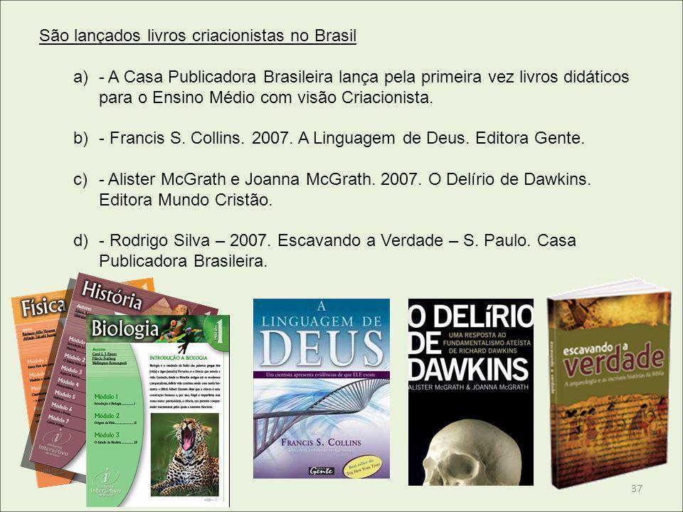 São lançados livros criacionistas no Brasil