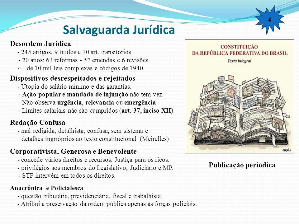 Salvaguarda Jurídica 4 Desordem Jurídica