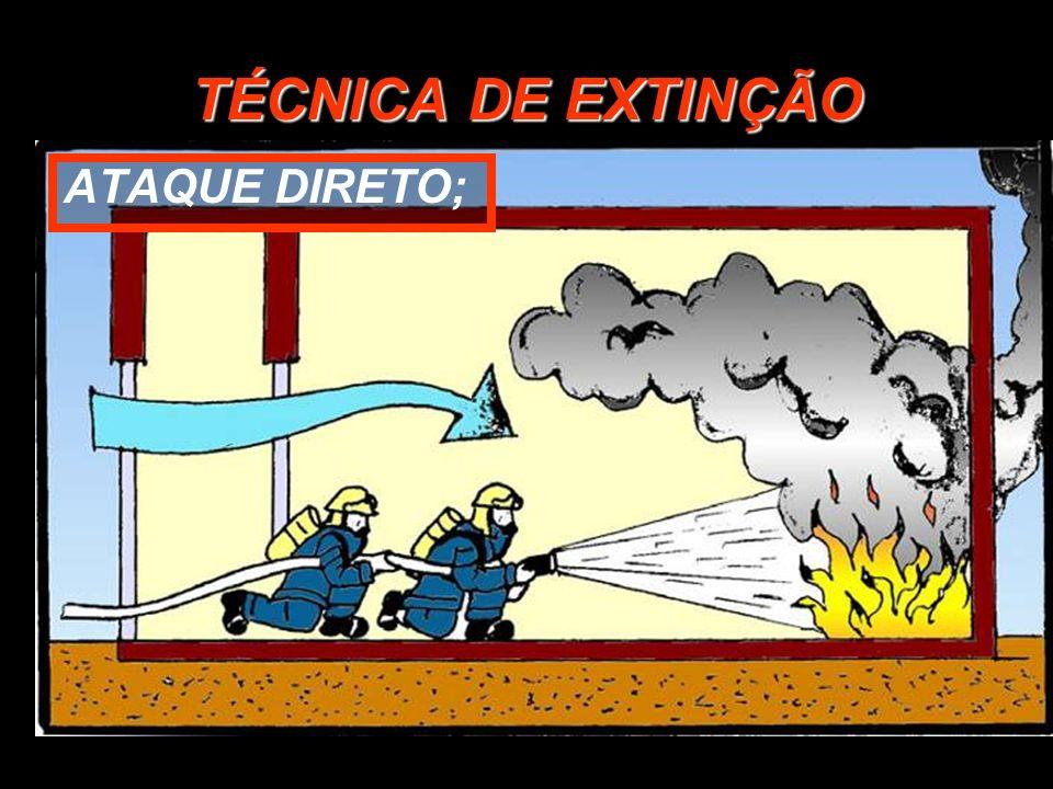 TÉCNICA DE EXTINÇÃO ATAQUE DIRETO;