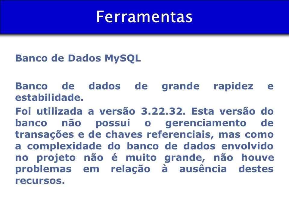 Ferramentas Banco de Dados MySQL