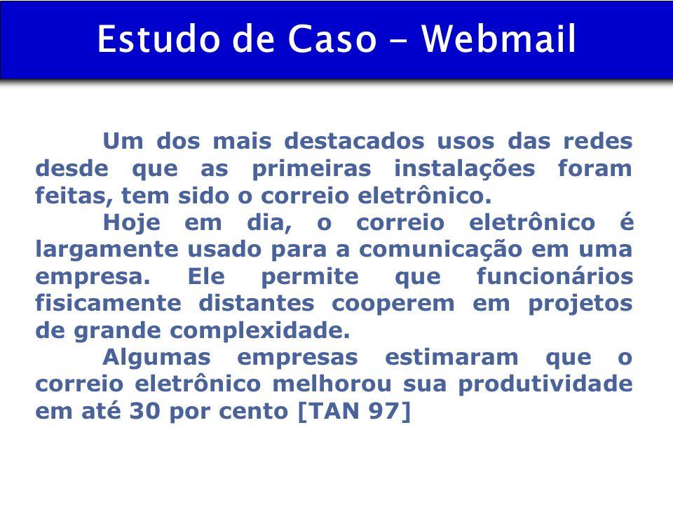 Estudo de Caso - Webmail