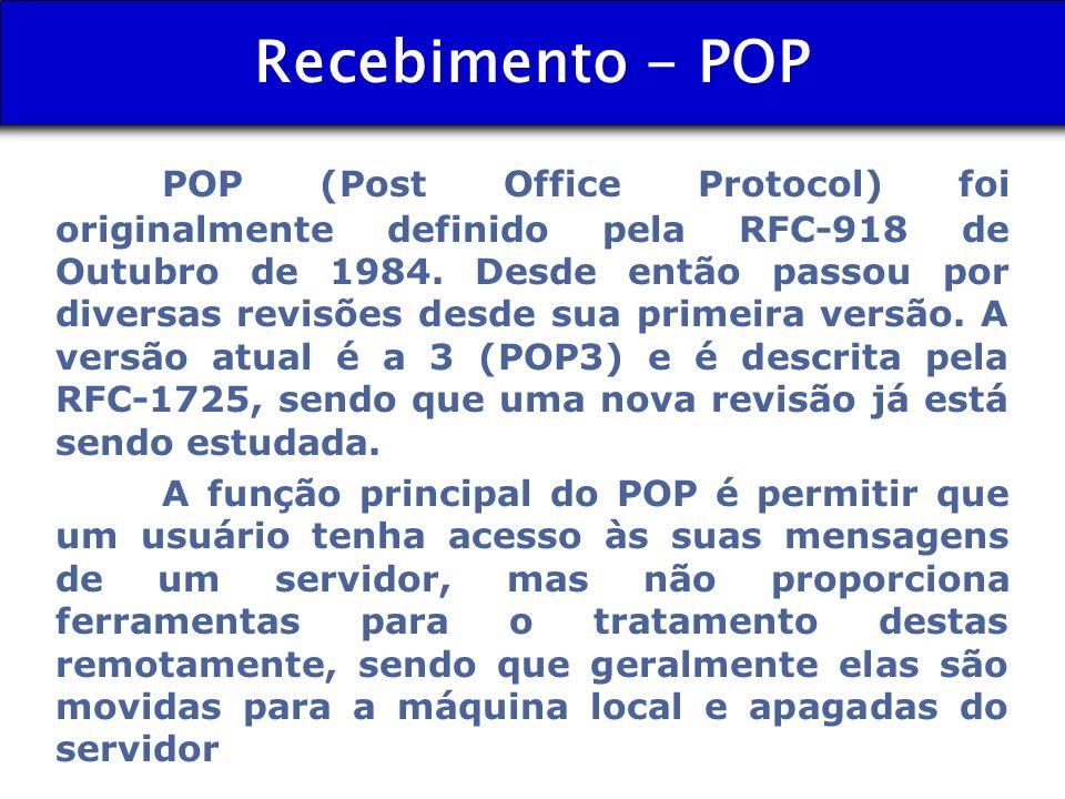 Recebimento - POP