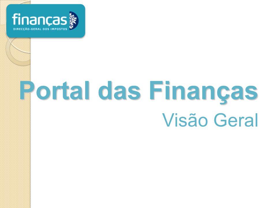Portal das Finanças Visão Geral