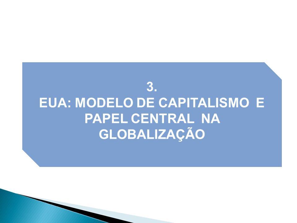 EUA: MODELO DE CAPITALISMO E PAPEL CENTRAL NA GLOBALIZAÇÃO
