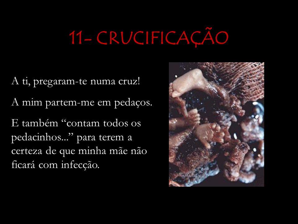 11- CRUCIFICAÇÃO A ti, pregaram-te numa cruz!
