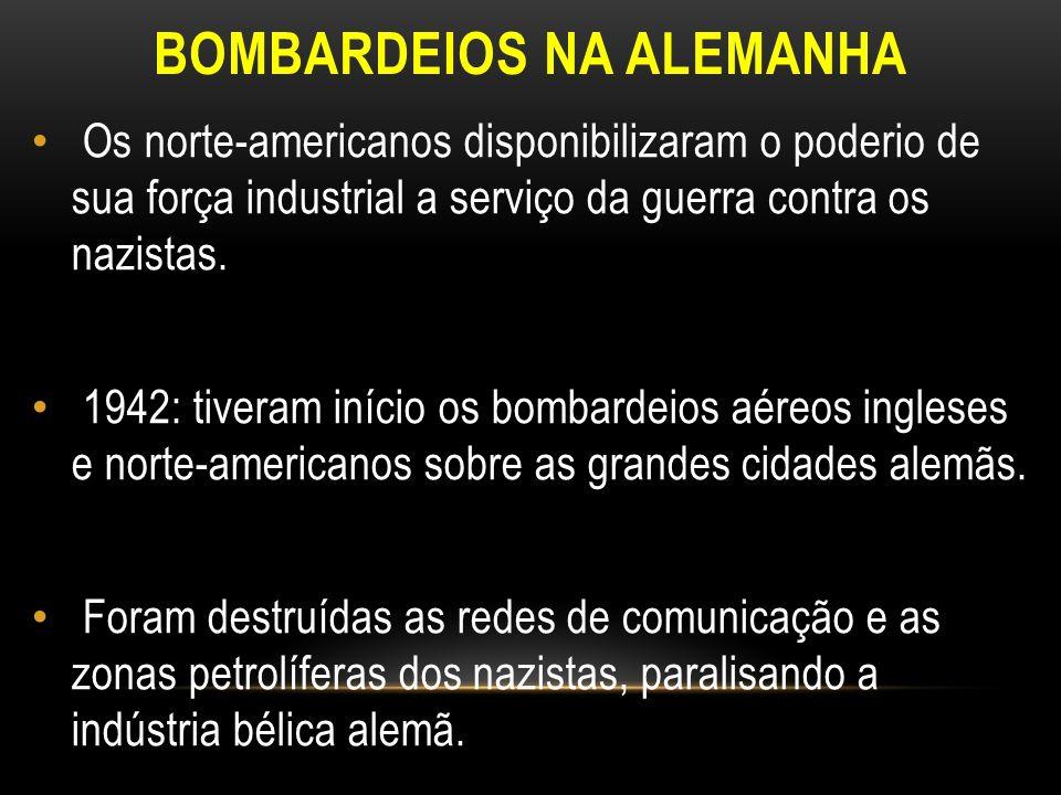 BOMBARDEIOS NA ALEMANHA
