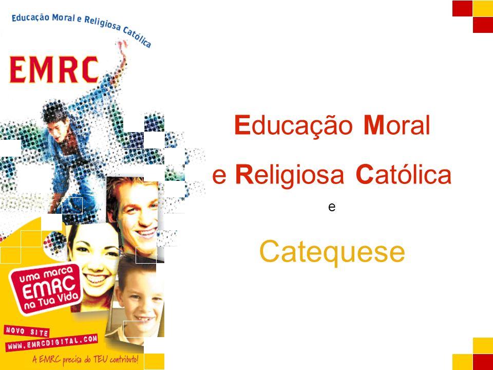 Educação Moral e Religiosa Católica e Catequese