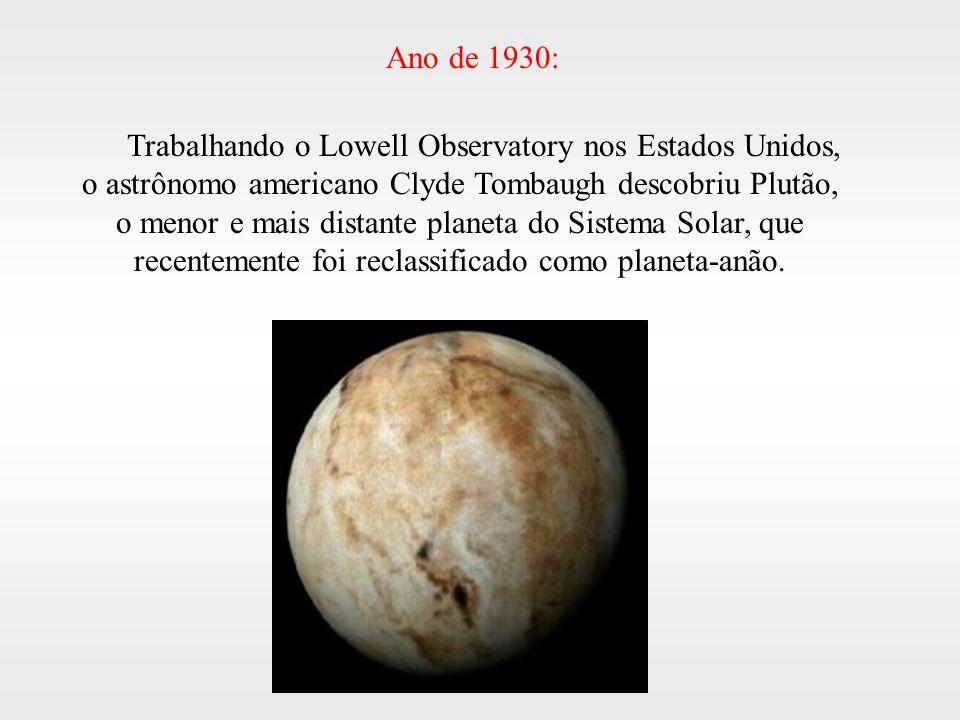 Ano de 1930: