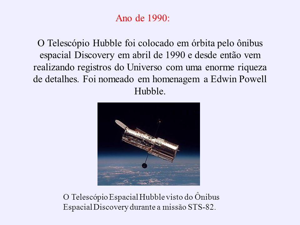 Ano de 1990: