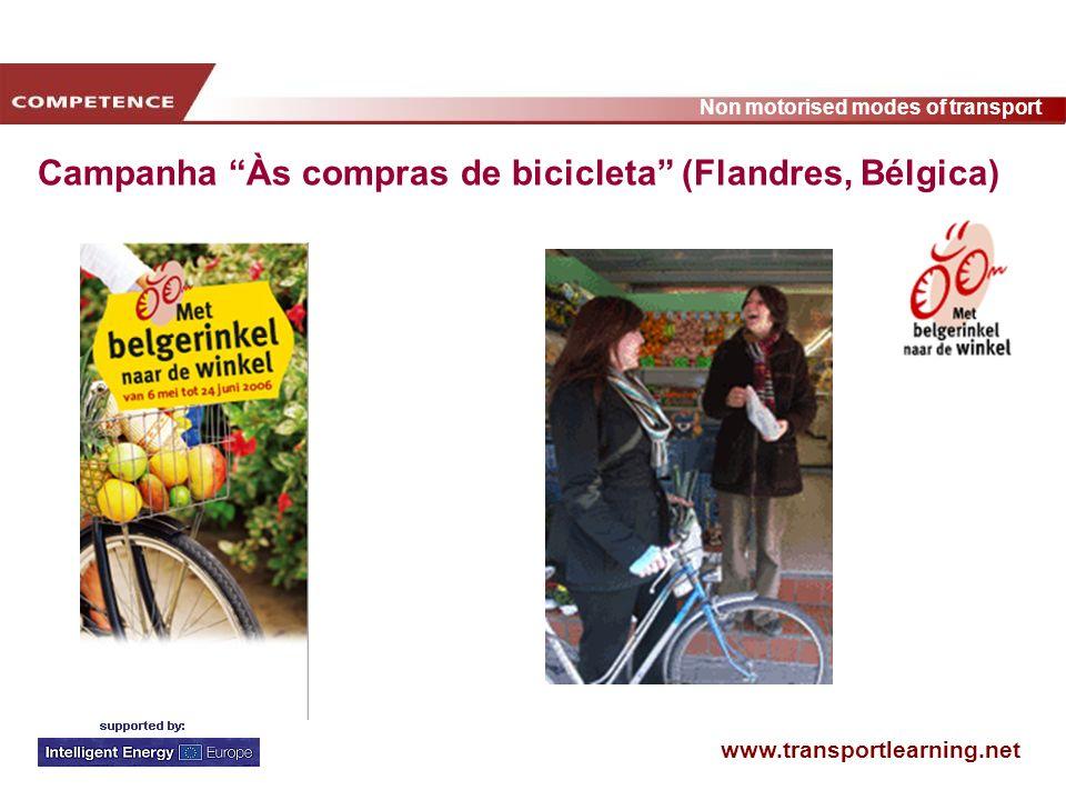 Campanha Às compras de bicicleta (Flandres, Bélgica)