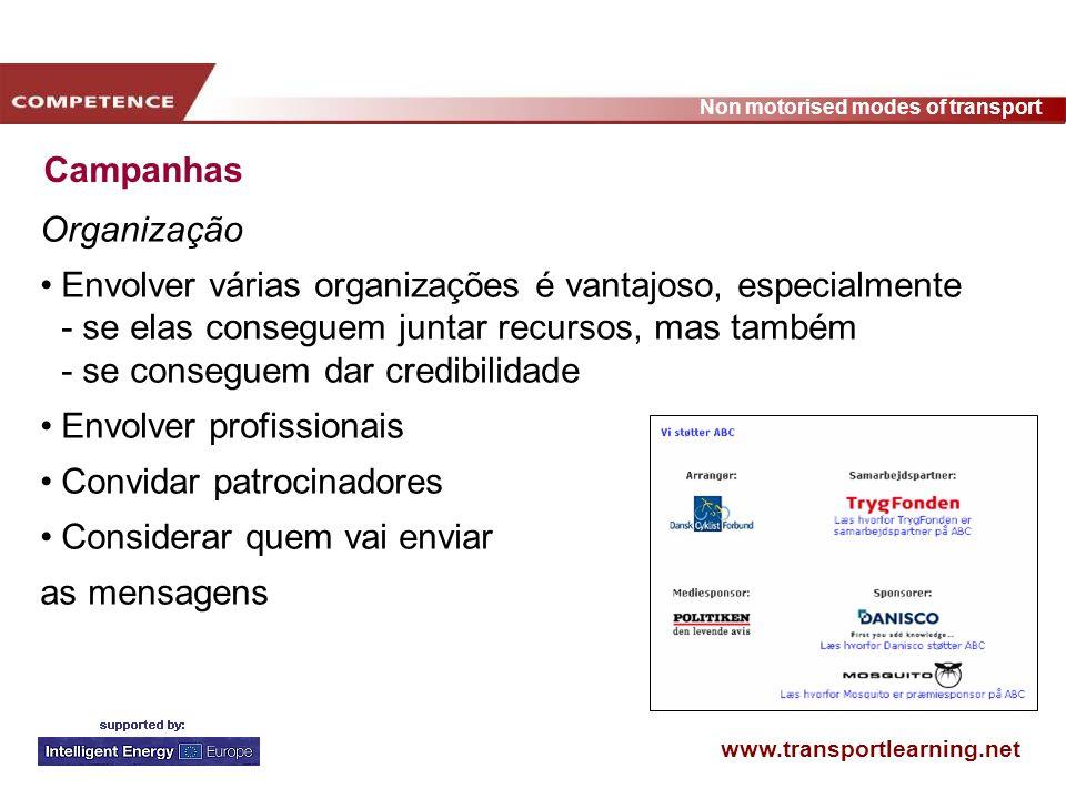 Campanhas Organização.