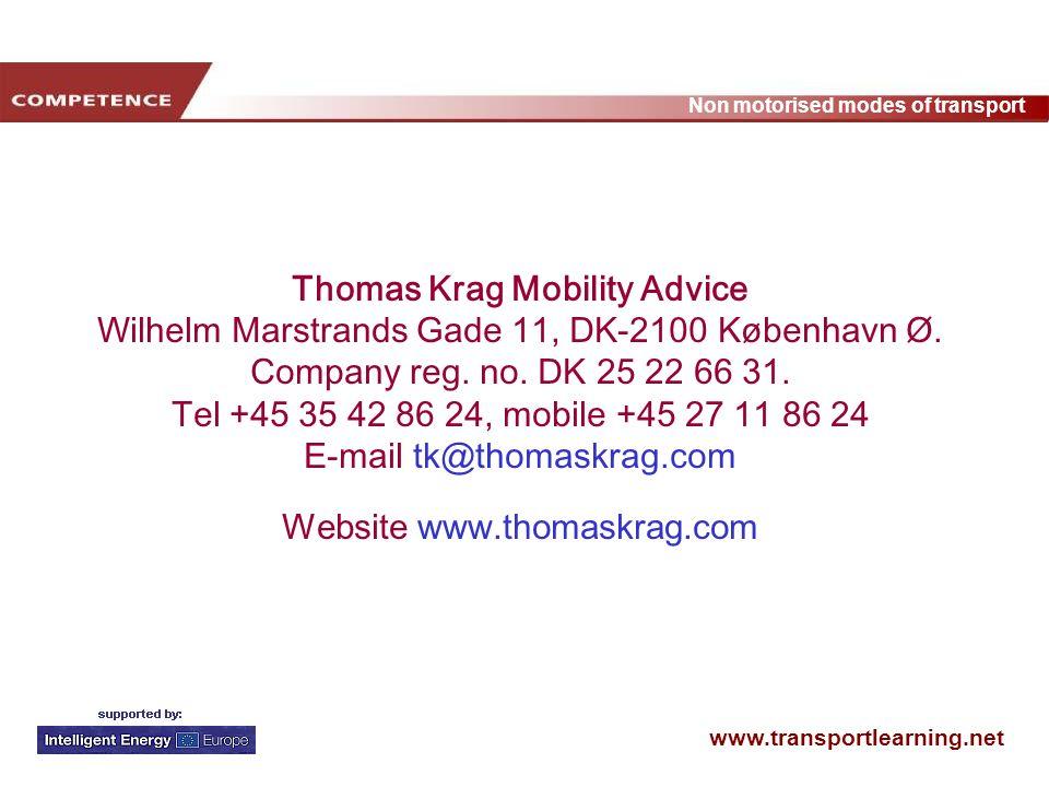 Thomas Krag Mobility Advice Wilhelm Marstrands Gade 11, DK-2100 København Ø.