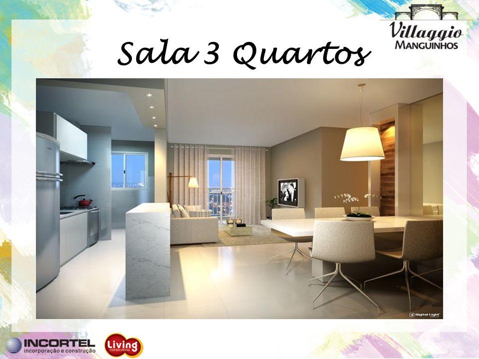 Sala 3 Quartos