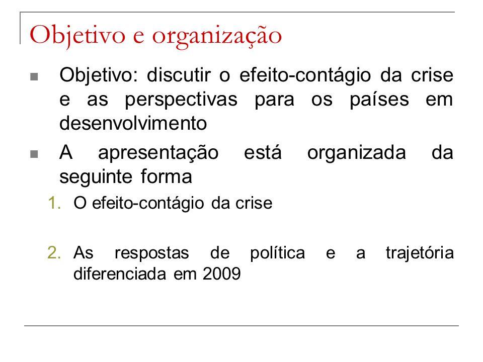 Objetivo e organização