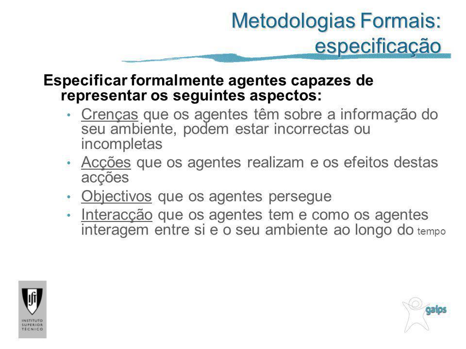 Metodologias Formais: especificação