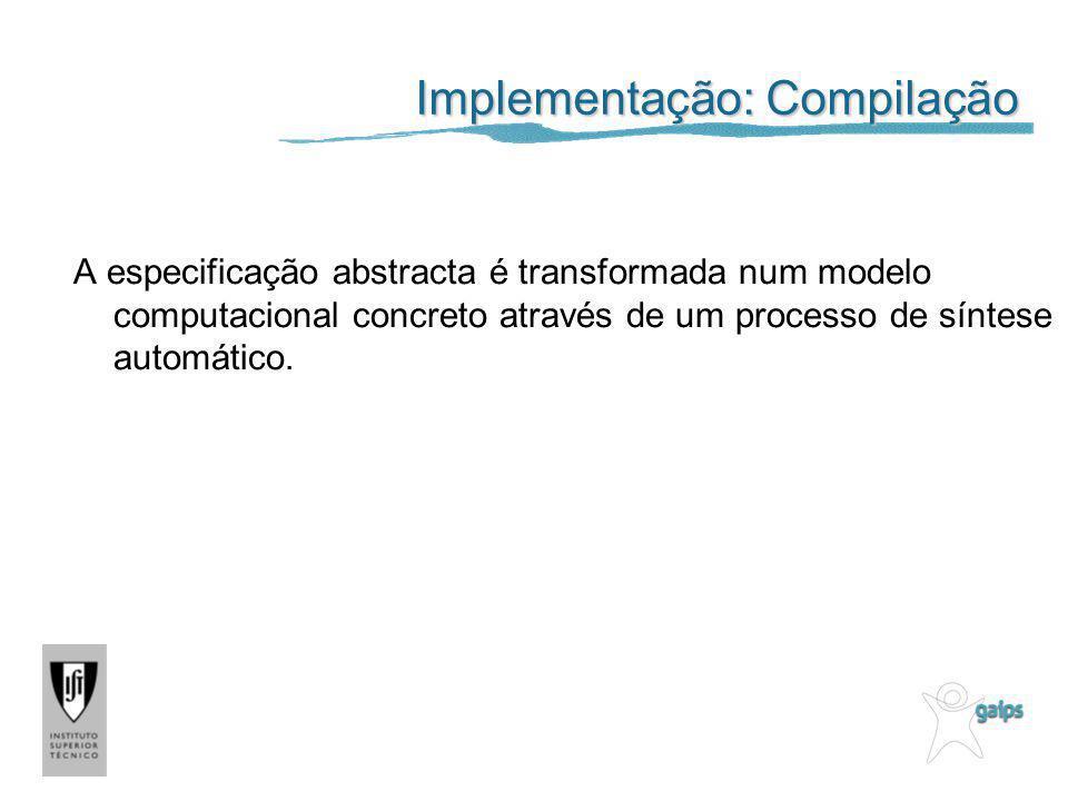 Implementação: Compilação