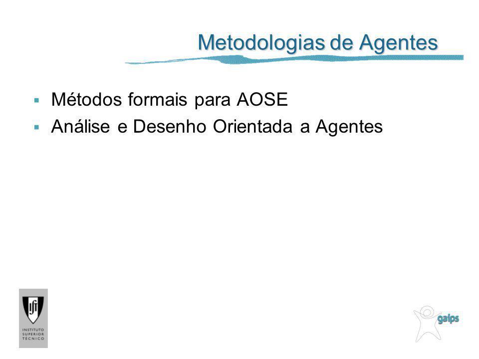 Metodologias de Agentes