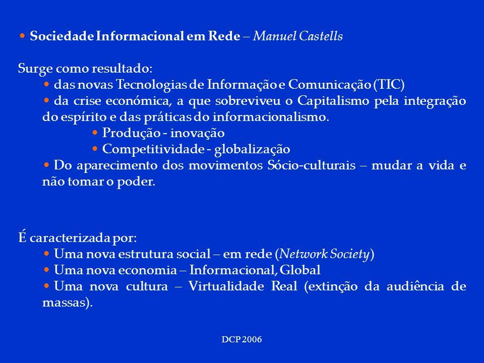 Sociedade Informacional em Rede – Manuel Castells