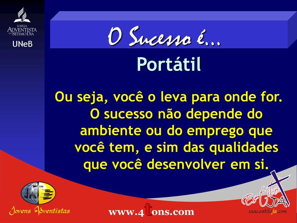 O Sucesso é... Portátil Estiloja.com