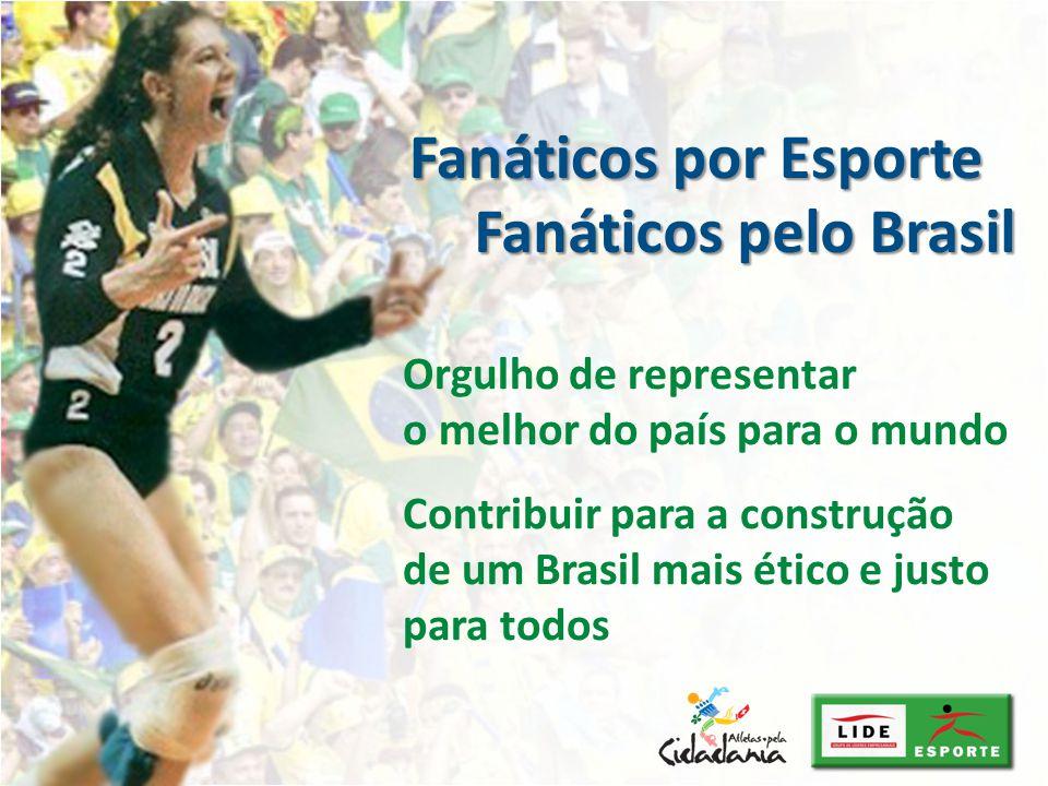 Fanáticos por Esporte Fanáticos pelo Brasil