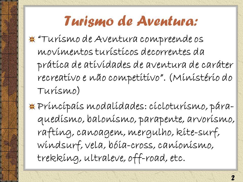 Turismo de Aventura:
