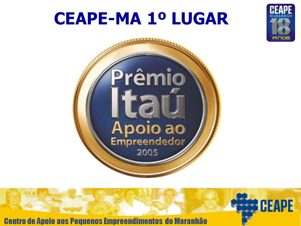 CEAPE-MA 1º LUGAR