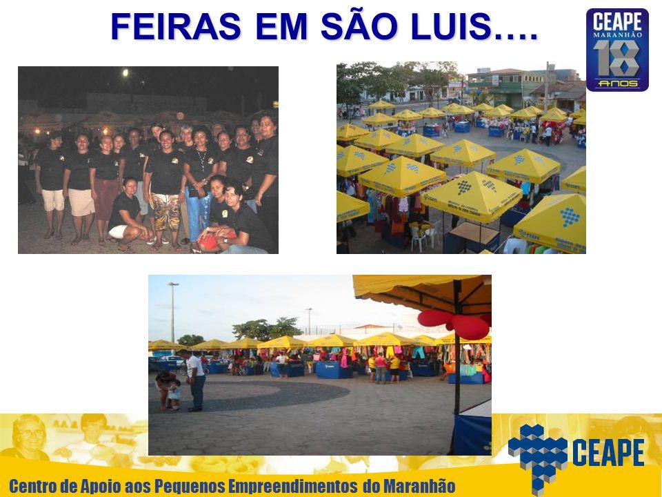 FEIRAS EM SÃO LUIS….