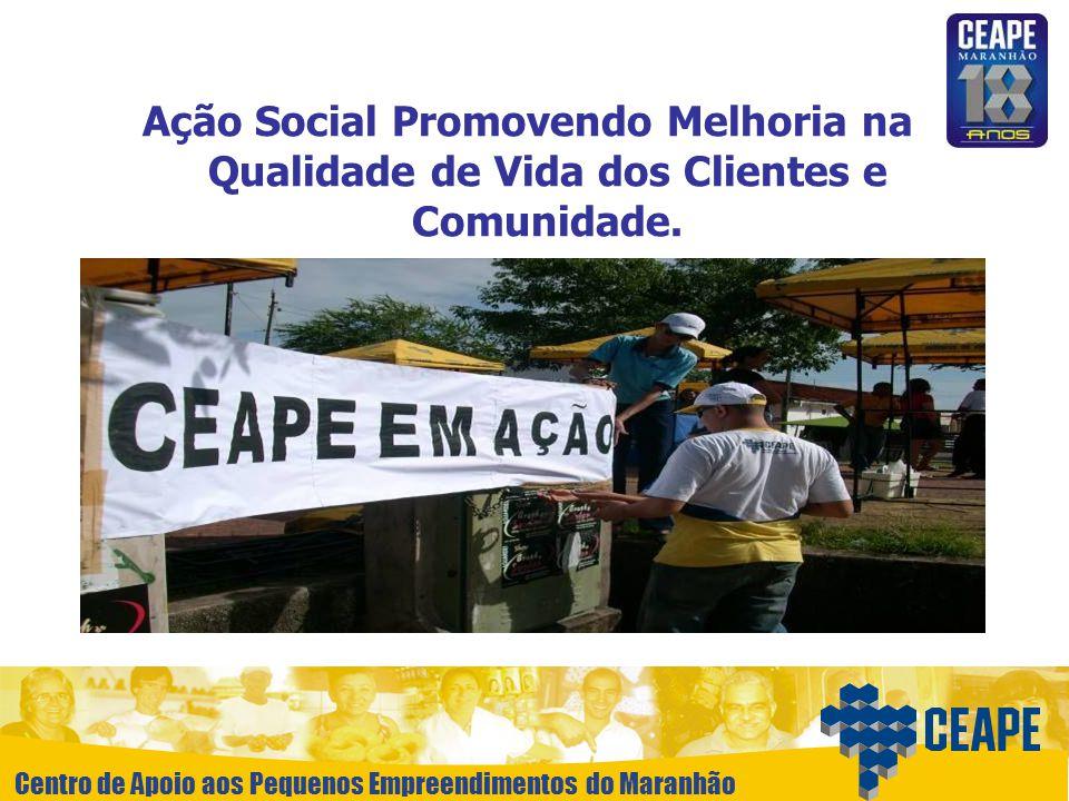 Ação Social Promovendo Melhoria na Qualidade de Vida dos Clientes e Comunidade.