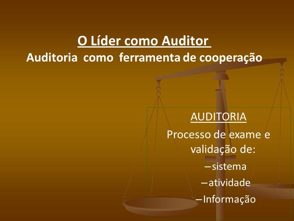 Auditoria como ferramenta de cooperação