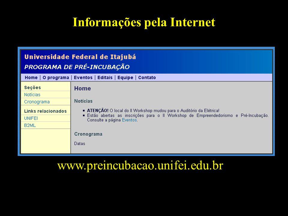 Informações pela Internet