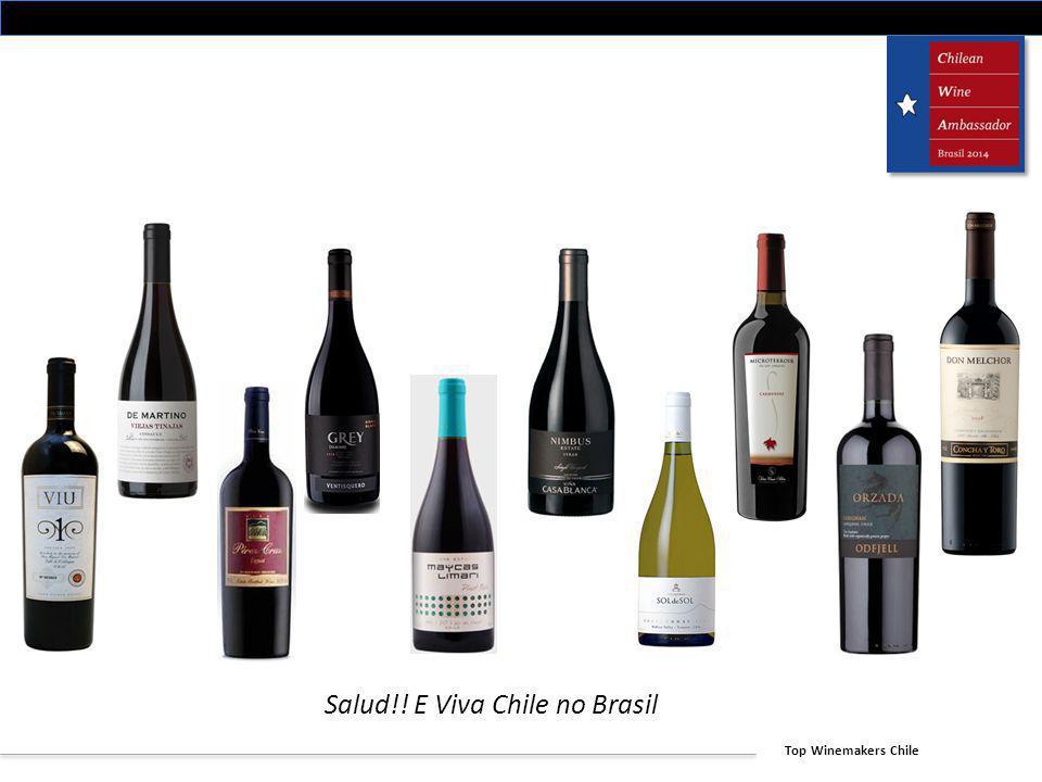Salud!! E Viva Chile no Brasil