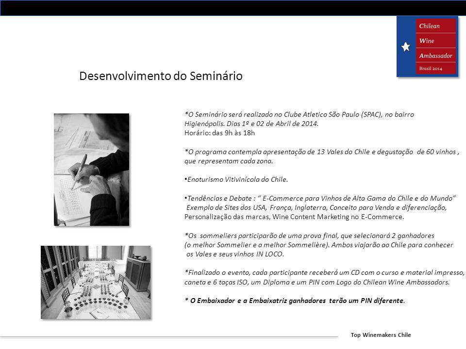 Desenvolvimento do Seminário