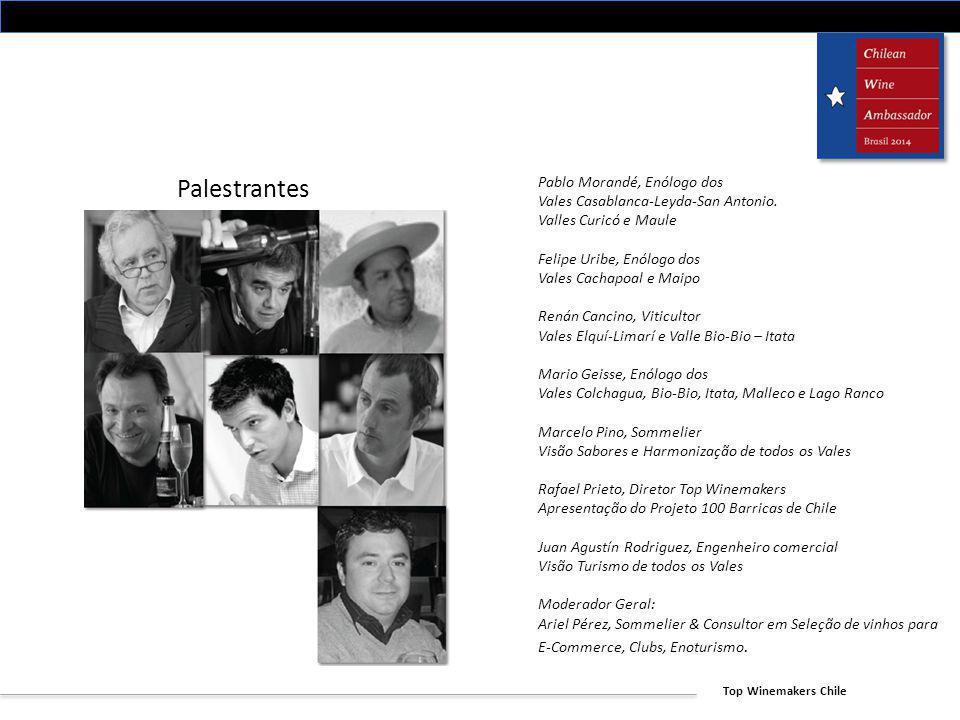 Palestrantes Pablo Morandé, Enólogo dos