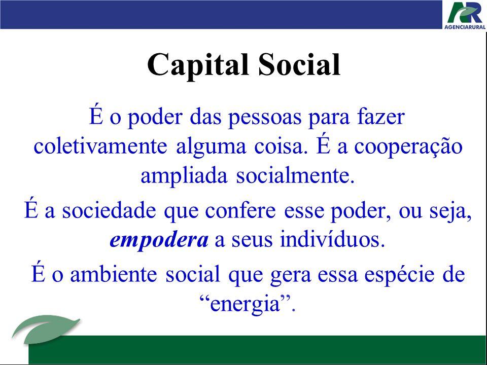 É o ambiente social que gera essa espécie de energia .