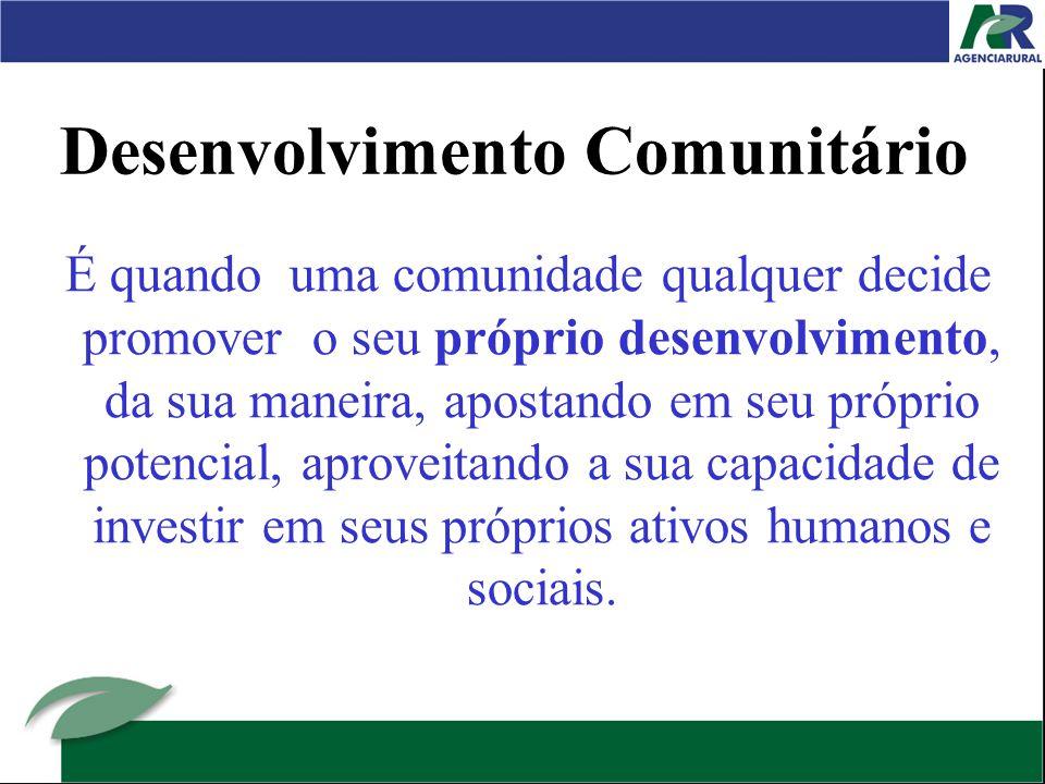 Desenvolvimento Comunitário